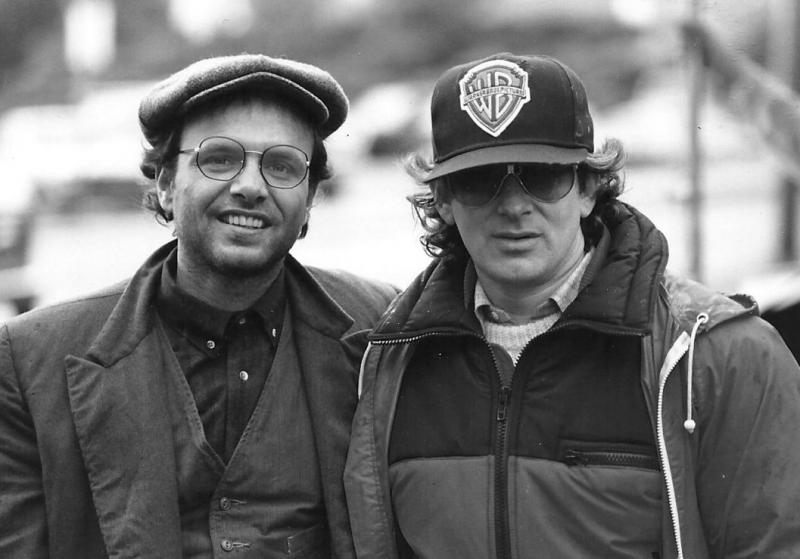 Joey Pontiliano seen here with Steven Spielberg